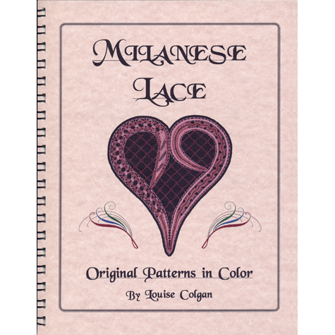 Milanese Lace: Original Patterns in Color book