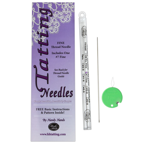Tatting Needle Size 7 - Fine