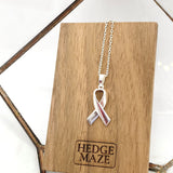 Awareness Ribbons Necklace (Silver925)