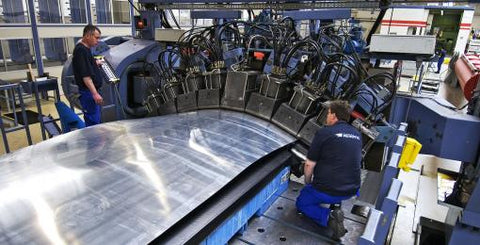 Sheet stretch forming for aerospace sector by ACB presses