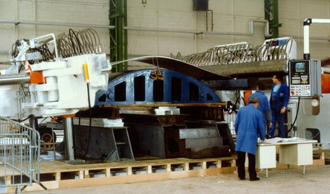 1500T Sheet Stretch Forming Press at St Nazaire France by ACB Presses