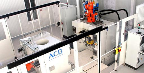 Linear Friction Welding press by ACB Aries Alliance