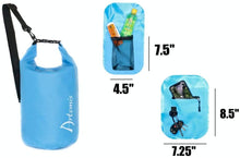 Load image into Gallery viewer, 15L Floating Waterproof Dry Bag, Blue