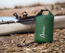 Load image into Gallery viewer, 15L Floating Waterproof Dry Bag, Green