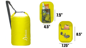 15L Floating Waterproof Dry Bag, Yellow