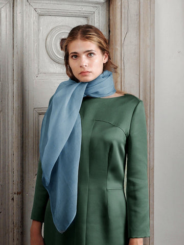 Silk Voile Foulard - Guado Urbino Fashion Accessories