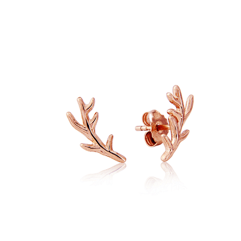 Stag Antler Stud Earrings