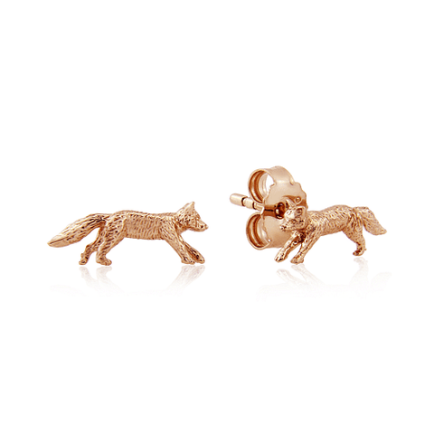 gemma-j-rose-gold-fox-stud-earrings