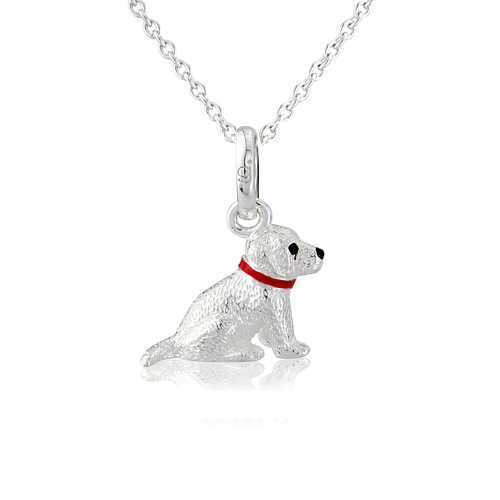 Labrador Dog Pendant - Cotswold Jewellery