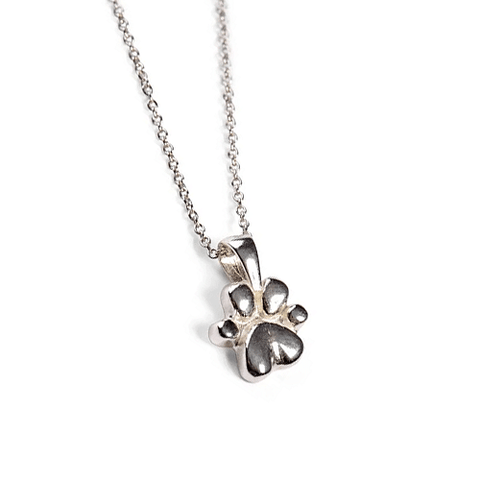 Dog Paw Print Necklace - Cotswold Jewellery