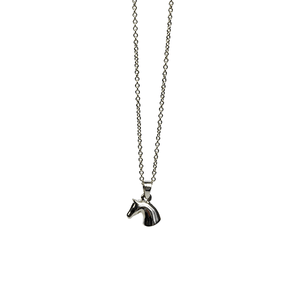 Horse Head Necklace in Equestrian Styled Tin - Cotswold Jewellery