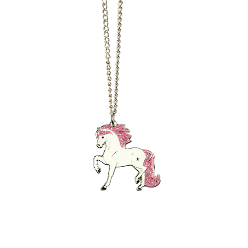 White Star Pony Necklace - Cotswold Jewellery