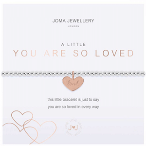 A Little - You are so Loved Bracelet - Cotswold Jewellery