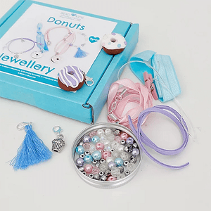 Donuts Jewellery Making Kit - Cotswold Jewellery
