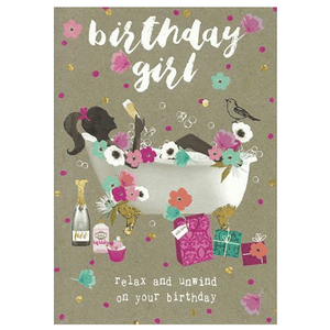 Birthday Girl Birthday Card - Cotswold Jewellery