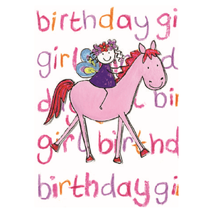 Fairy & Horse Birthday Card - Cotswold Jewellery