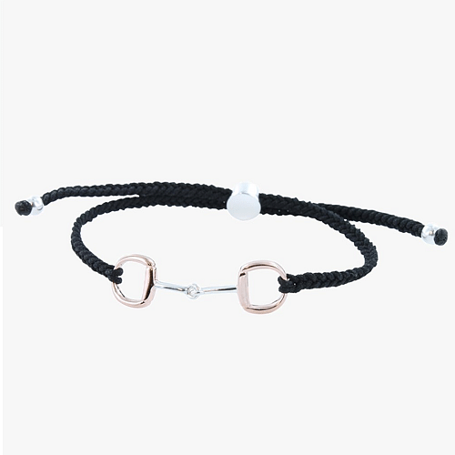 Snaffle Bit Friendship Bracelet - Cotswold Jewellery