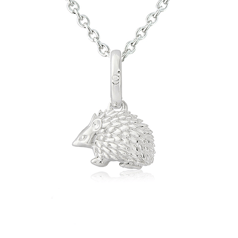 Hedgehog Pendant - Cotswold Jewellery