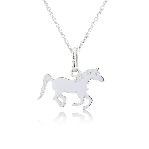 Running Pony Pendant - Cotswold Jewellery