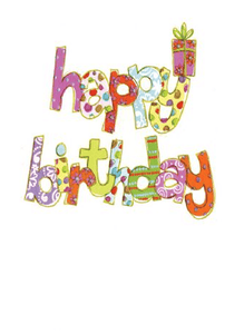 Happy Birthday Card - Cotswold Jewellery