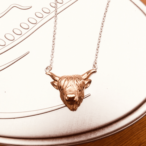 Stunning Highland Cow Necklace