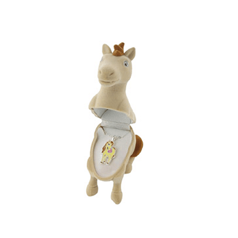 Children's Ivory Pony Necklace with Pony Gift Box - Cotswold Jewellery