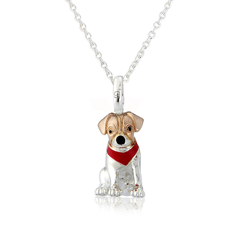 Jack Russell Pendant - Cotswold Jewellery