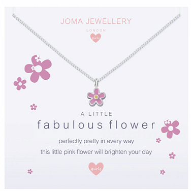 Children's A Little Fabulous Flower Necklace - Cotswold Jewellery