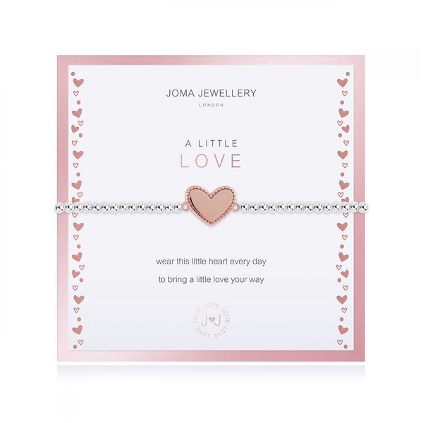 Beautifully Boxed A Littles - With Love Bracelet - Cotswold Jewellery