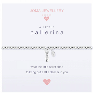 Children's A Little - Ballerina Bracelet - Cotswold Jewellery