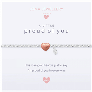 Children's A Little - Proud of You Bracelet - Cotswold Jewellery