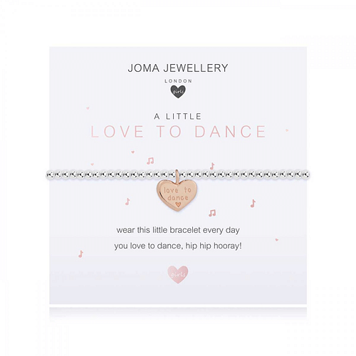 Children's A Little - Love to Dance Bracelet - Cotswold Jewellery