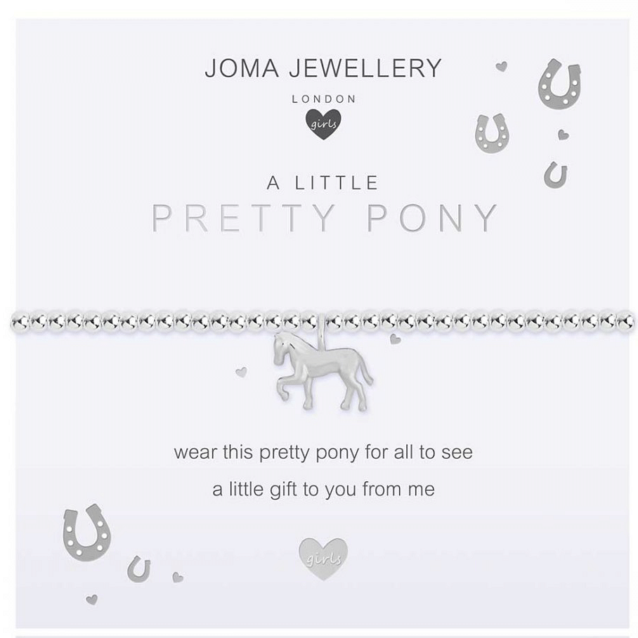 Children's A Little - Pretty Pony Bracelet - Cotswold Jewellery