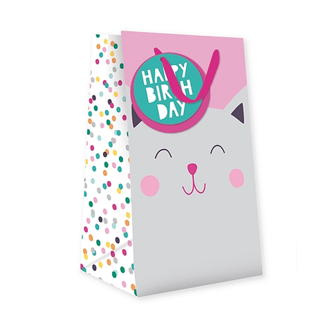 Kitty Kat Small Gift Bag - Cotswold Jewellery
