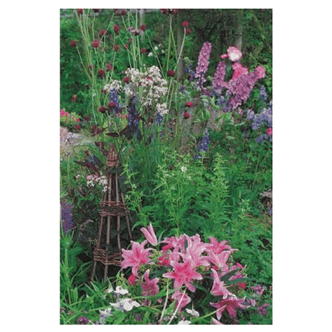 Lily Garden Blank Card - Cotswold Jewellery