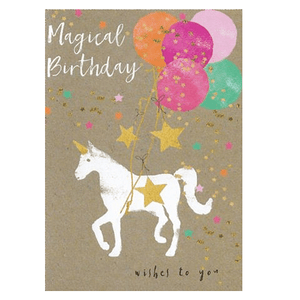 Magical Unicorn Birthday Card - Cotswold Jewellery