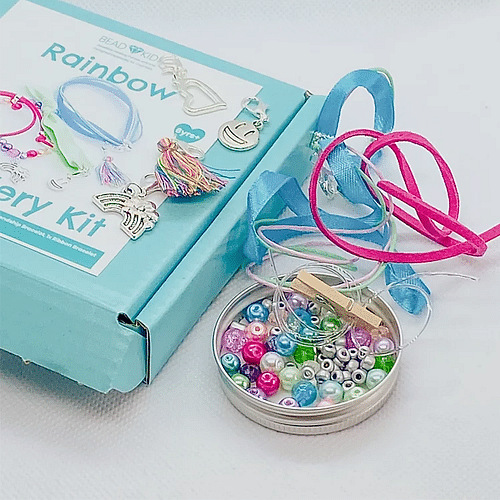 Rainbow Jewellery Making Set - Cotswold Jewellery
