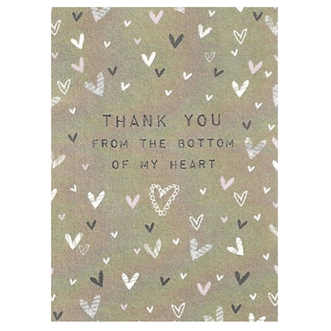 Thank you Card - Cotswold Jewellery