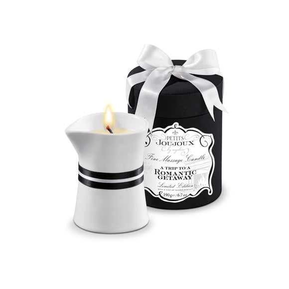 Petits Joujoux Massage Candle Large - A Trip To A Romantic Getaway - Limited Edition
