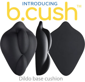 B.Cush Flat Stimulating Strap-On Dildo Base