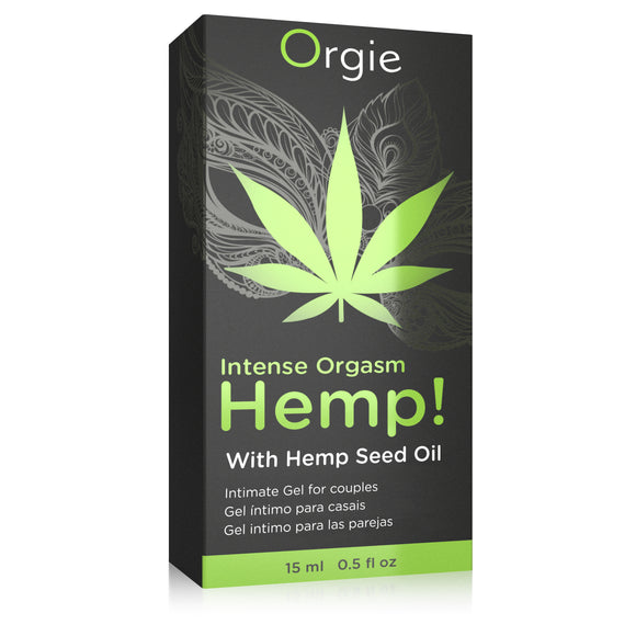 Orgie Hemp! Intense Orgasm Gel