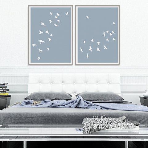 Smokey Birds Collection - Large