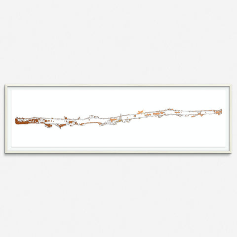 Birch Tree 2 - Copper