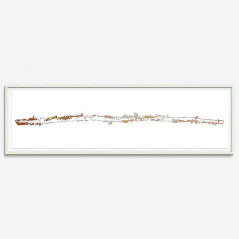 Birch Tree 4 - Copper