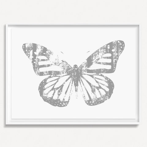 Butterfly with Forest Wings 3