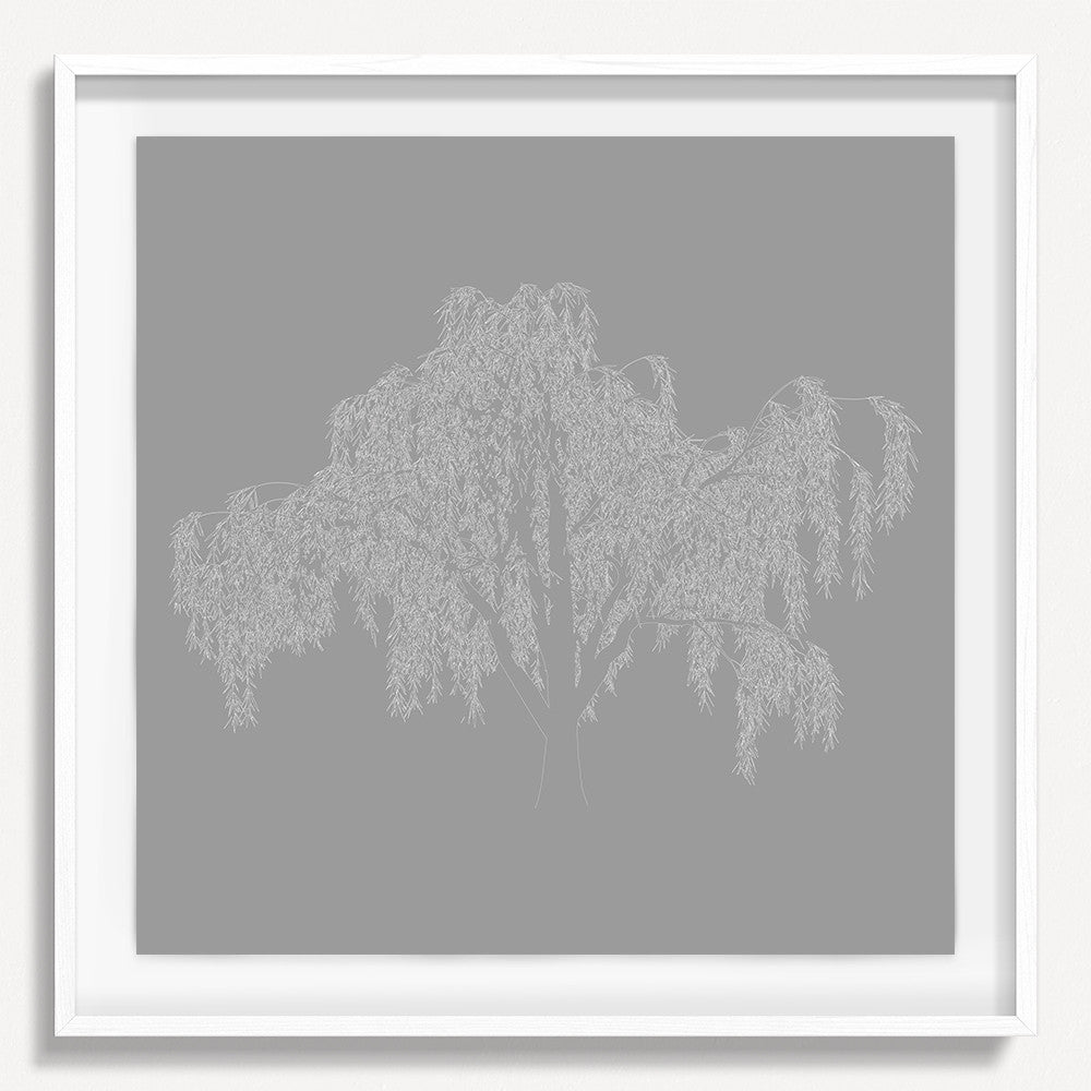 Digital Tree 1 - Gray