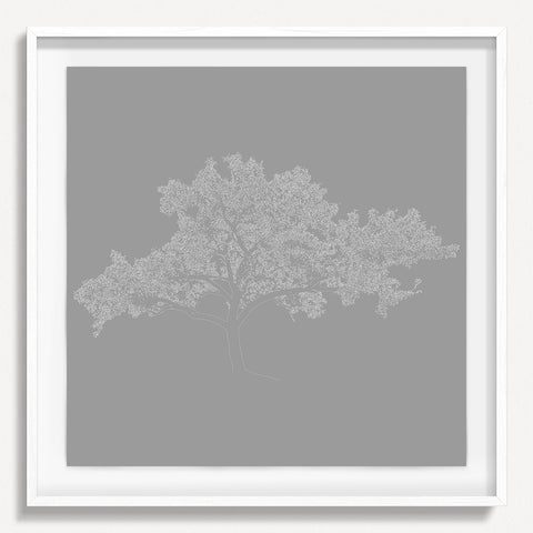 Digital Tree 2 - Gray