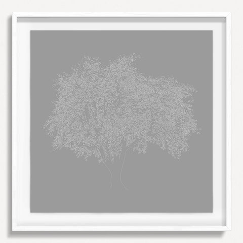 Digital Tree 3 - Gray