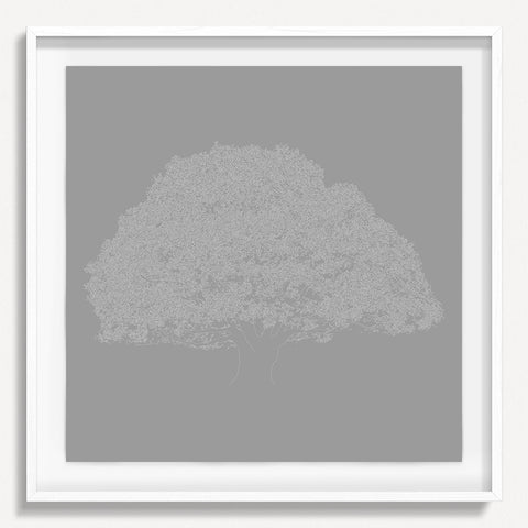 Digital Tree 4 - Gray