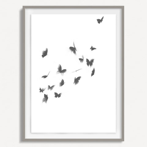 Smokey Butterfly 3 - Small